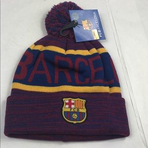 FCB Beanie Red And Blue Brand New With Tags